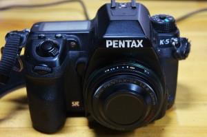 PENTAX K-5 に装着