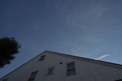 青い空 あまり寒くなく行楽日和