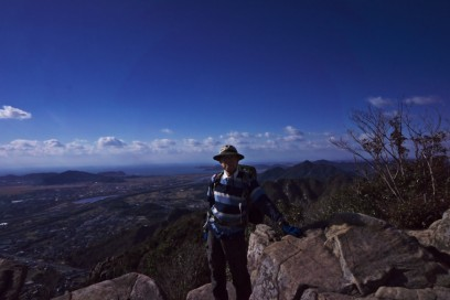 右田ヶ岳山頂からの眺めは抜群