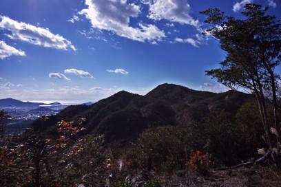 11:50 三谷山山頂 ここで昼食
