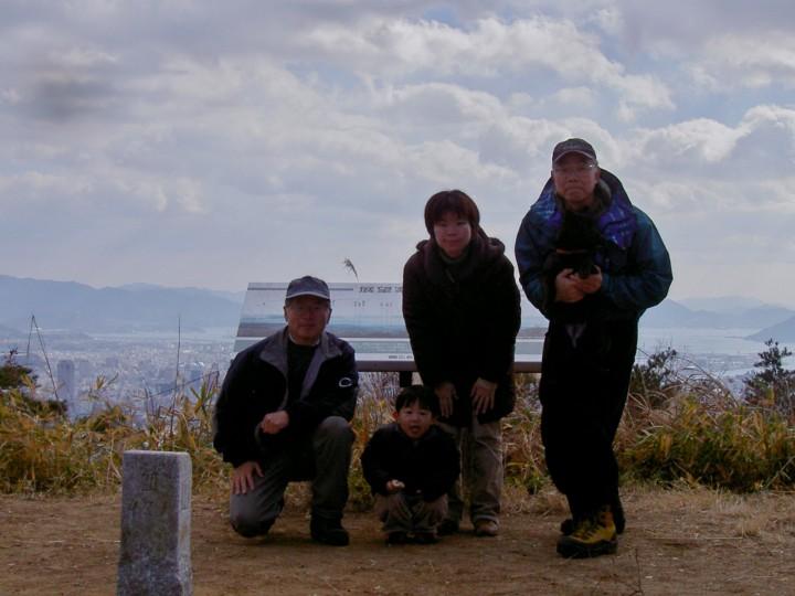宗箇山の山頂