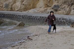 海の周辺で遊んでいましたが