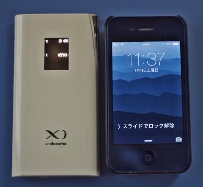 L-09CとiPhone4