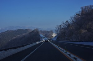 中国横断自動車道尾道松江線 で高野町に