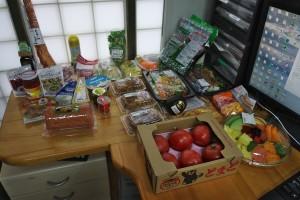 食材を購入して準備をしましょう