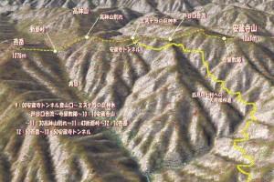 安蔵寺山 MAP