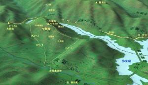 白滝山MAP