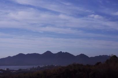 7:57 宮島SAで集合 宮島が綺麗