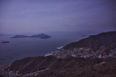 天狗城山から広島の市街地を