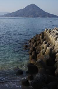 安芸小富士の似島
