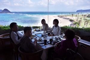 西長門リゾートで朝食