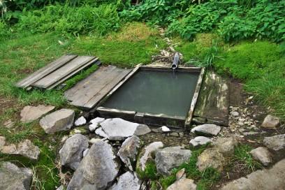 三国一の湯 浴槽は小さく温度はぬるい