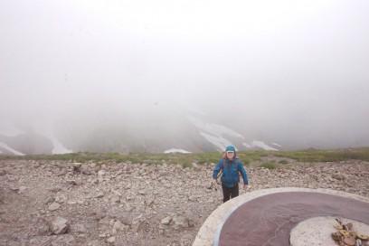 14:47 白馬岳の山頂に到着