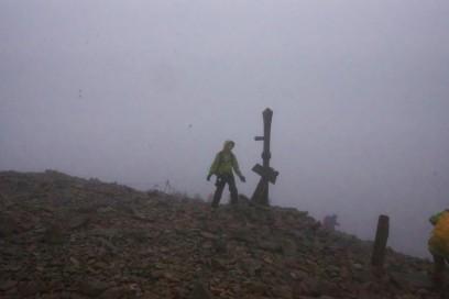 7:29 小蓮華山の山頂