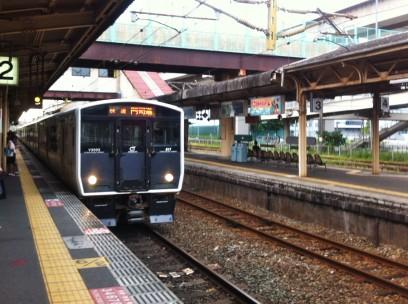 黒崎駅から小倉駅へは快速で