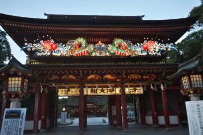 大宰府の神社の入口