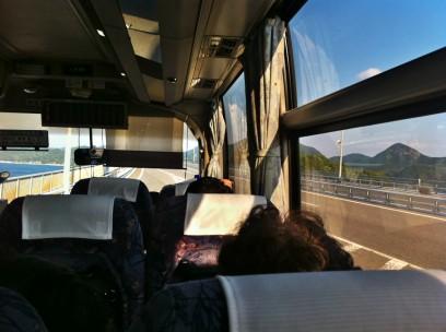 しまなみ海道を高速バスでゆく