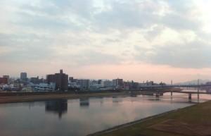 夕方に博多へ