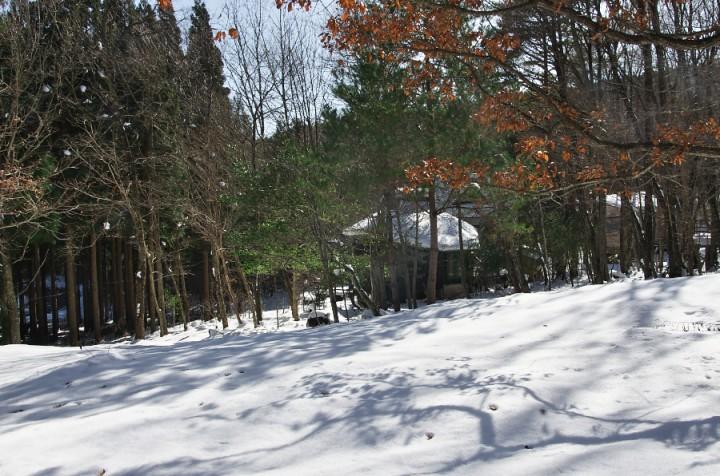AWLのメンバーで1982年に建てた山小屋