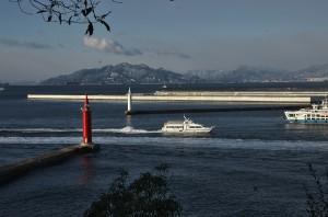 広島港の玄関