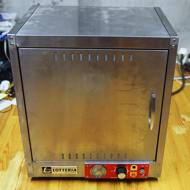 ステンレス製の温蔵庫