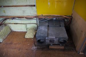 FFガス暖房ユニットが出てきました