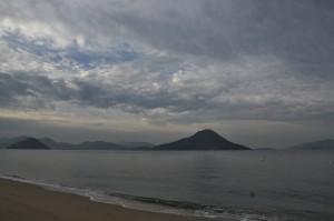 広島湾を眺めて