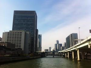 淀屋橋からの風景