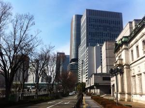 中之島の日本銀行