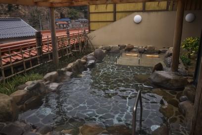 俵山温泉 白猿の湯 露天風呂
