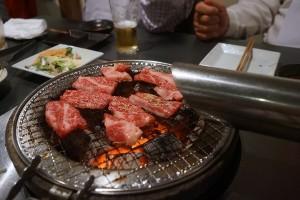 ラグーンの焼き肉は美味しい