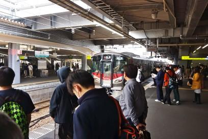 広島駅からJRで大野浦まで35分 新型車両227系