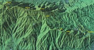 呉婆々宇 登山 MAP