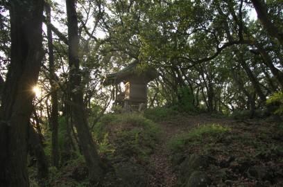 五剣山の山頂