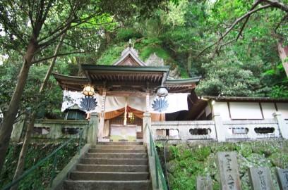 八栗寺の最も高い中将坊堂