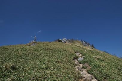 14:27 剣山山頂まで長く感じる
