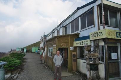 剣山ヒュッテに宿泊 お客は私達を含めて3人