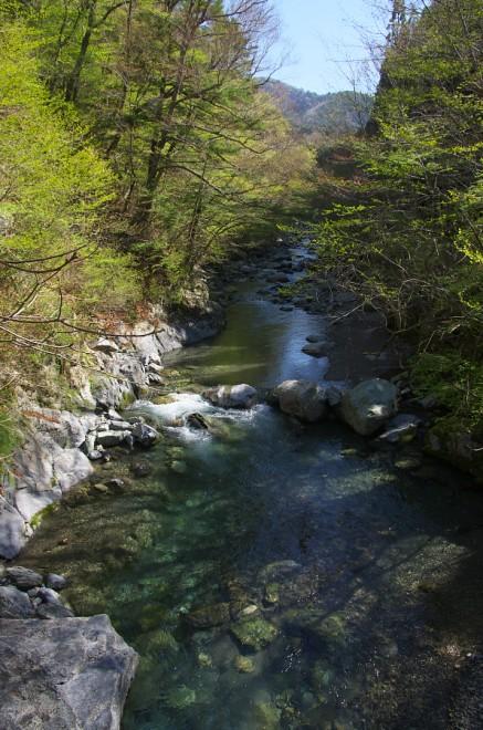素晴らしい渓流