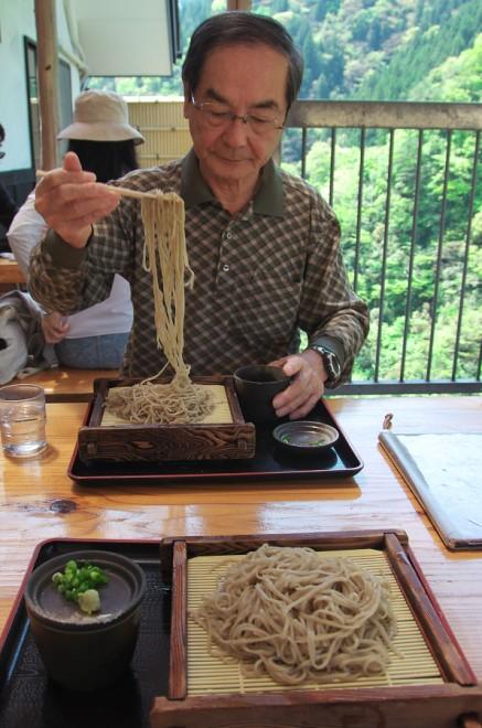 祖谷で祖谷蕎麦を なかなか美味しい