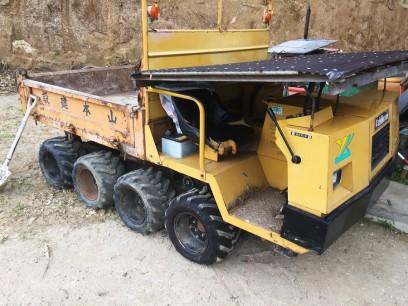 最近購入した土木作業車