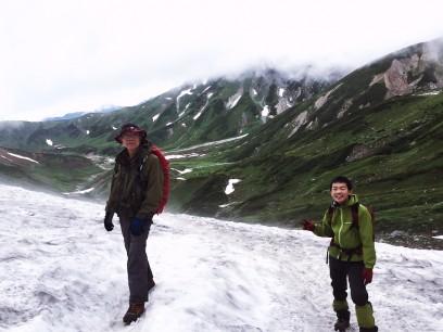 雨が残念でしたが立山縦走は無事に終了
