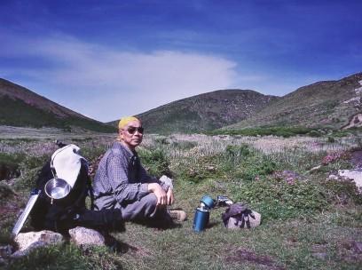 2001/06/17 久住 中岳分岐で