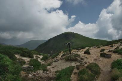 11:21 白口岳登山道合流点 白口登山道は禁止だった