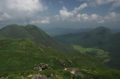三俣山とぼうがつる