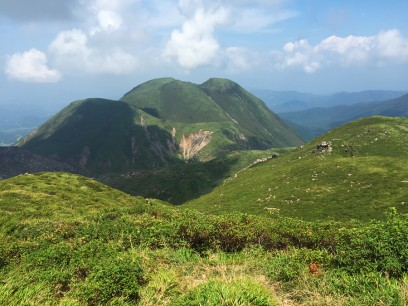 三俣山も良く眺められます