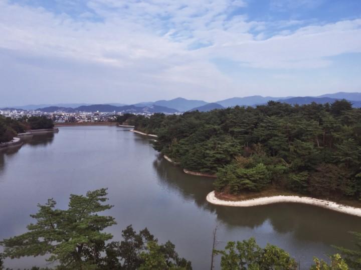 白水大池公園 周囲を歩くと2.5km