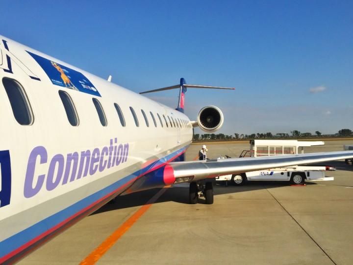 ボンバルディアRJR700 ANAとIBEXの共同運航