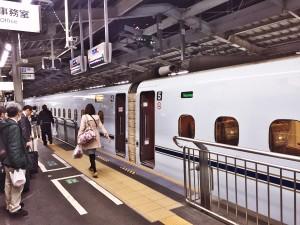 新大阪でみずほに乗車