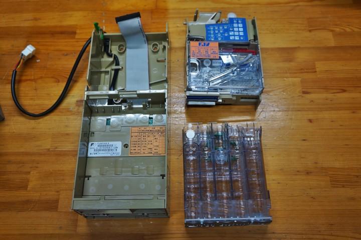 高見沢カード発券機(TCV-7000)硬貨ユニット