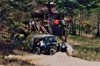 TAMはHJ58で出来上がった山小屋に